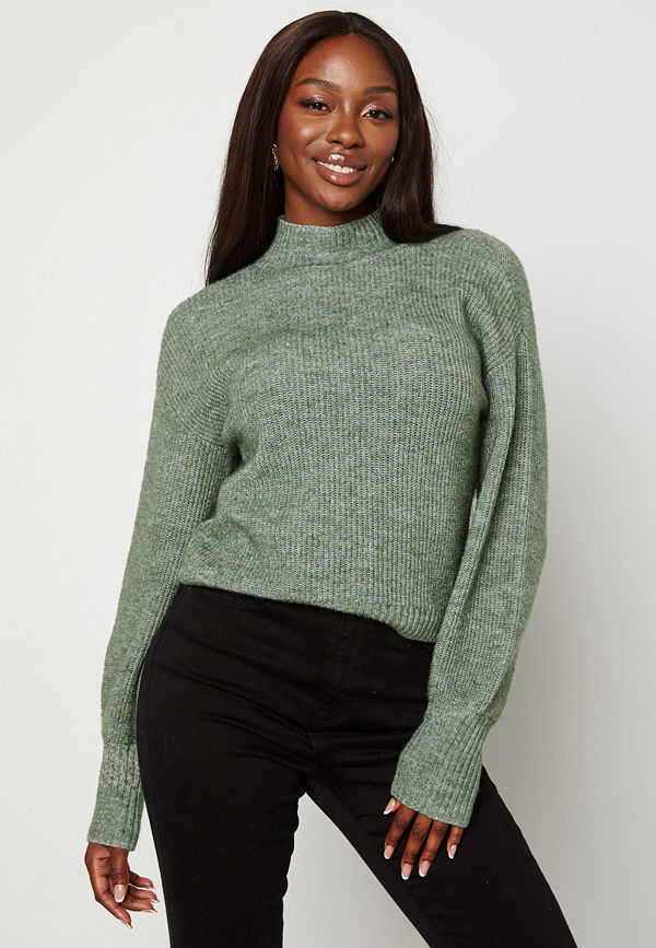 Bubbleroom Madina knitted sweater Green