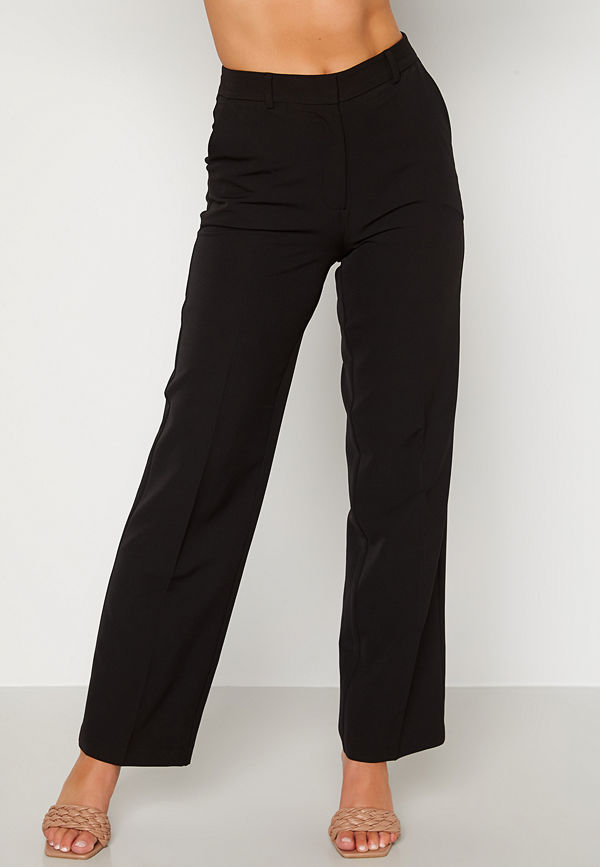 Bubbleroom svarta byxor Luisa suit trousers Black