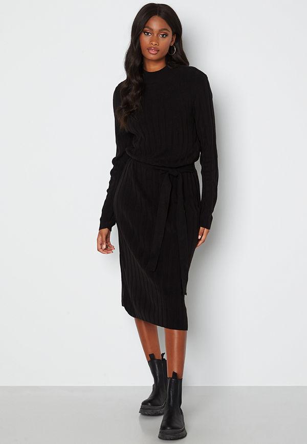 Only New Tessa L/S O-Neck Dress Black