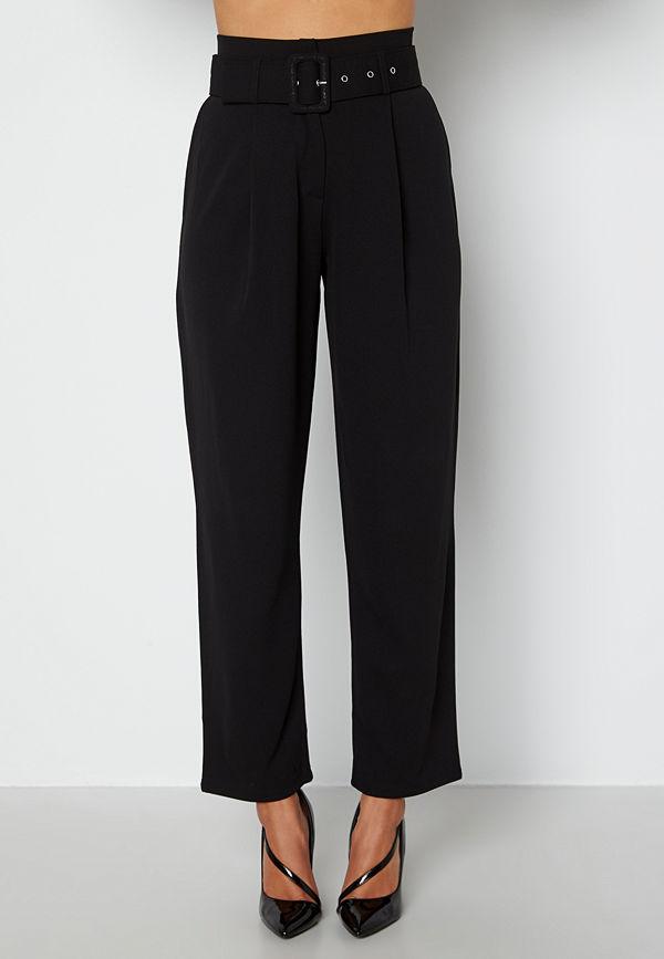 Chiara Forthi byxor Traviata soft suit pants Black