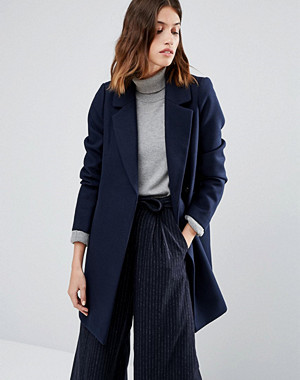 Warehouse Smart Tailored Coat