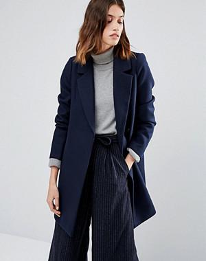 Warehouse Smart Tailored Coat