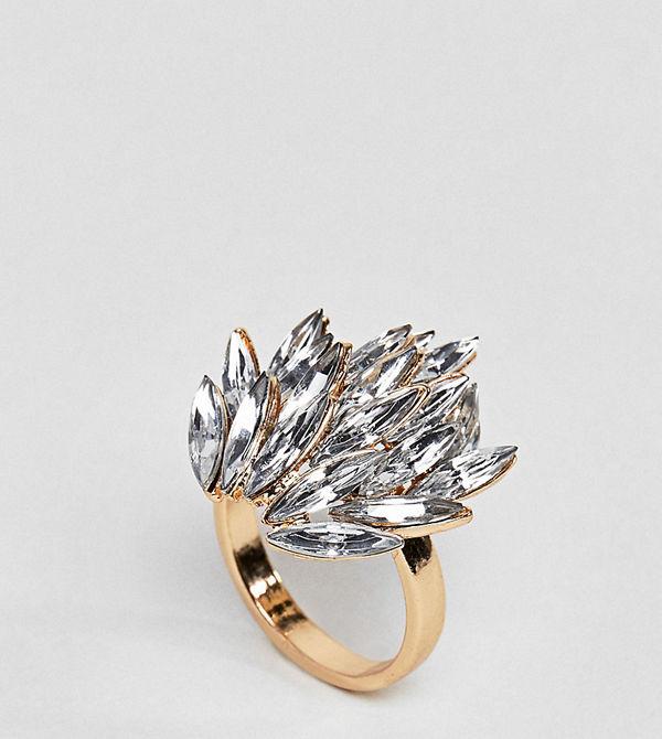 ASOS Curve Statement Jewel Ring