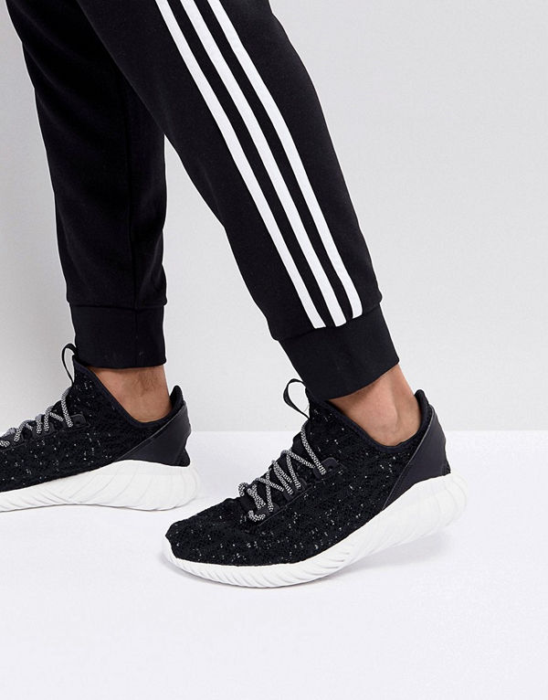 Tubular Doom Sock Primeknit Svarta sneakers CQ0940