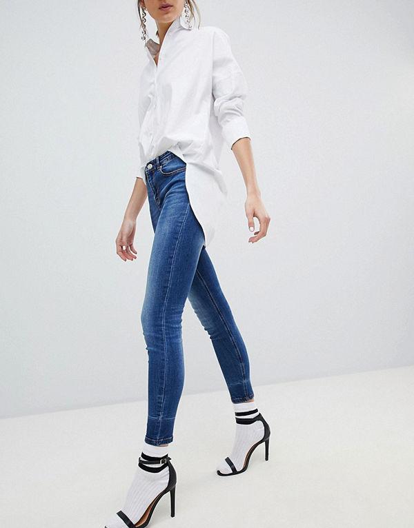 Stradivarius Skinny Low Waist Jean - Jeans online - Modegallerian 40483c74e6c20