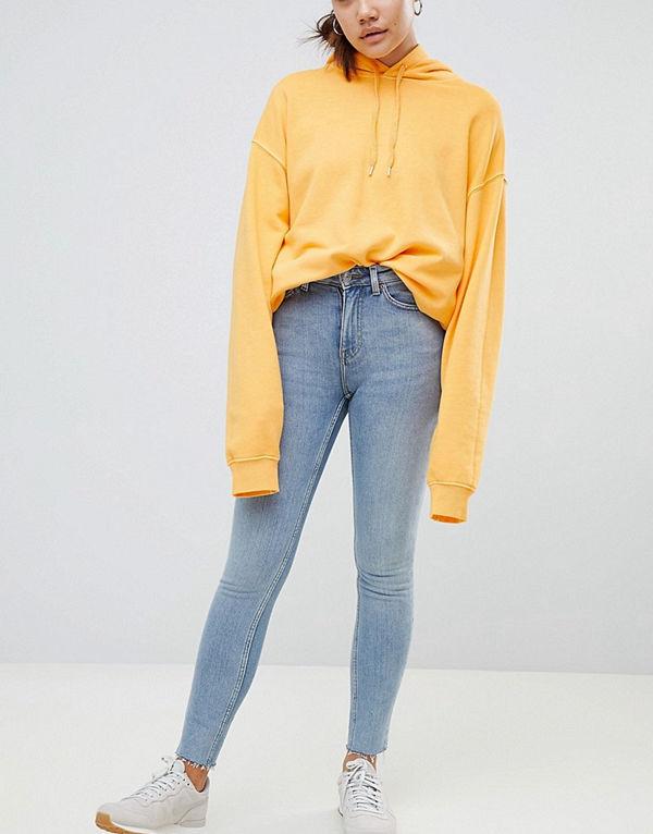 Weekday Thursday Skinny jeans med hög midja