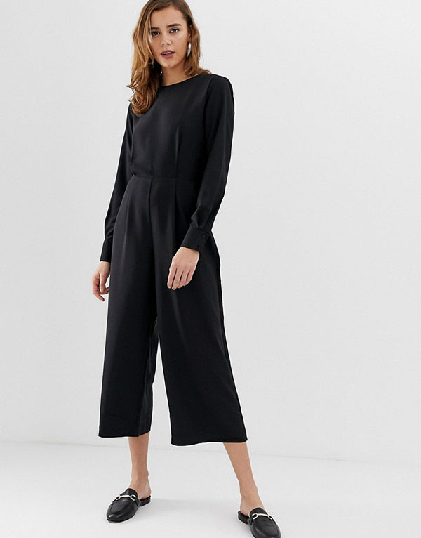 Pieces Kennedy Jumpsuit i avslappnad modell