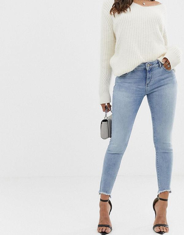 DL1961 Emma Skinny jeans med råkant Fenwick