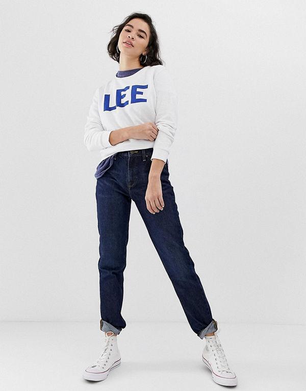 Lee Jeans Lee Raka mom jeans Buck dark