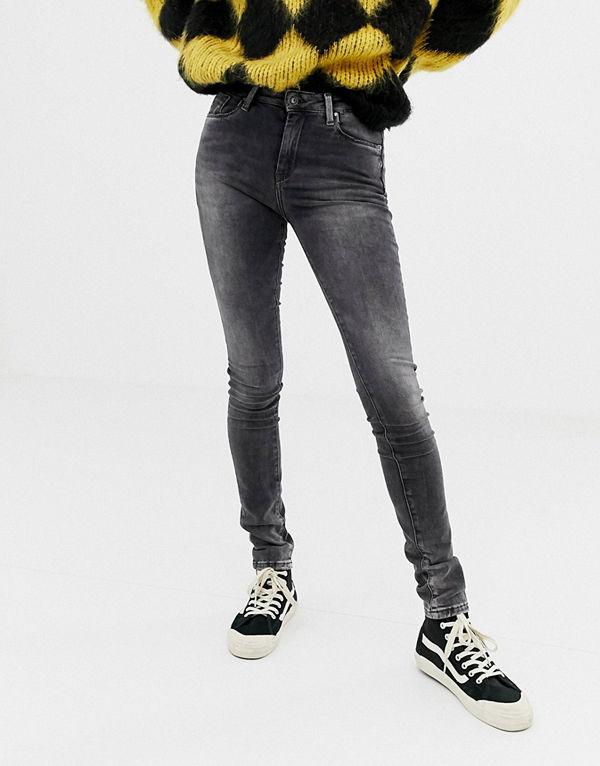 Pepe Jeans Regent Skinny jeans Urtvättad grå färg