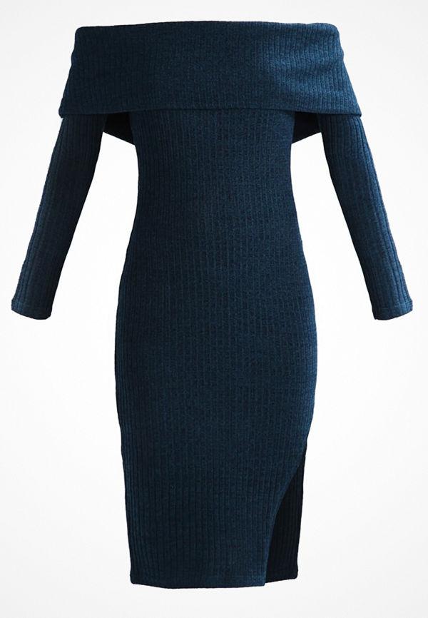 Lavish Alice Stickad klänning teal