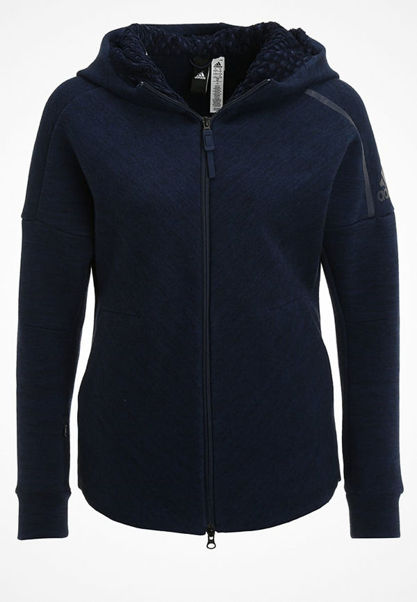 Adidas Performance Z.N.E. TRAVEL Sweatshirt storm heather/coll navy