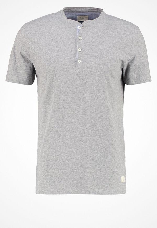 Selected Homme SHHNIKLAS  Tshirt bas light grey melange