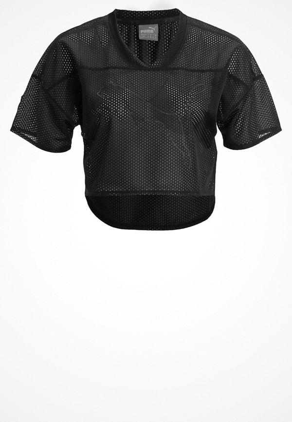 Puma Tshirt med tryck black