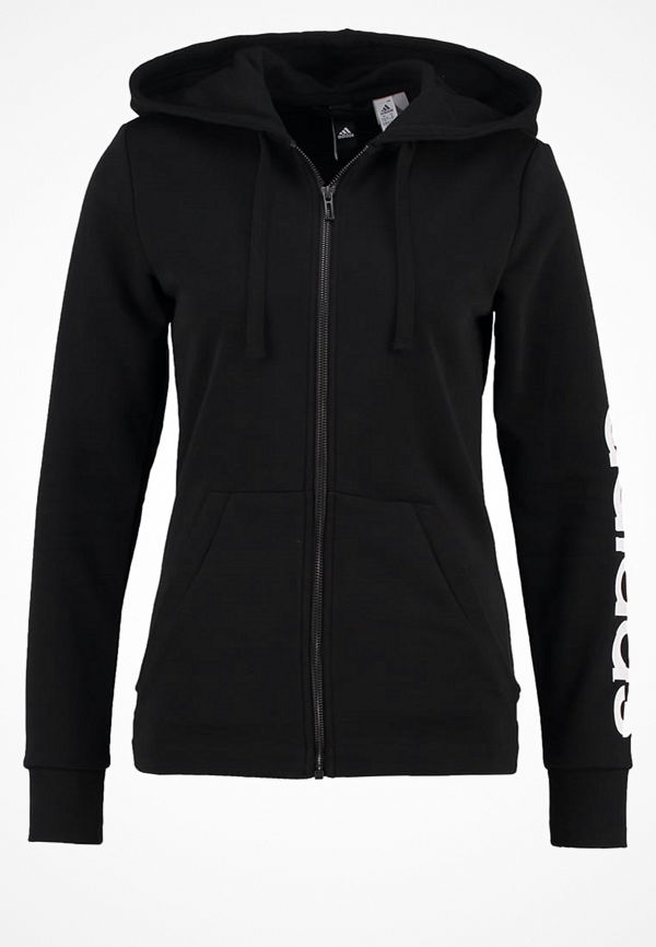 Adidas Performance ESSENTIALS LINEAR Sweatshirt black/white