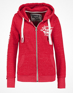 Superdry TRACK & FIELD Sweatshirt courage red snowy