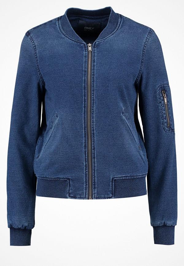 Only ONLJEM Sweatshirt dark blue denim