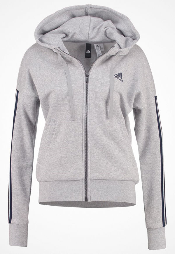 Adidas Performance ESSENTIALS Sweatshirt medium grey heather/collegiate navy