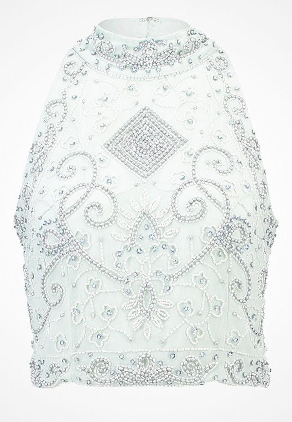 Lace & Beads PAULA  Blus mint