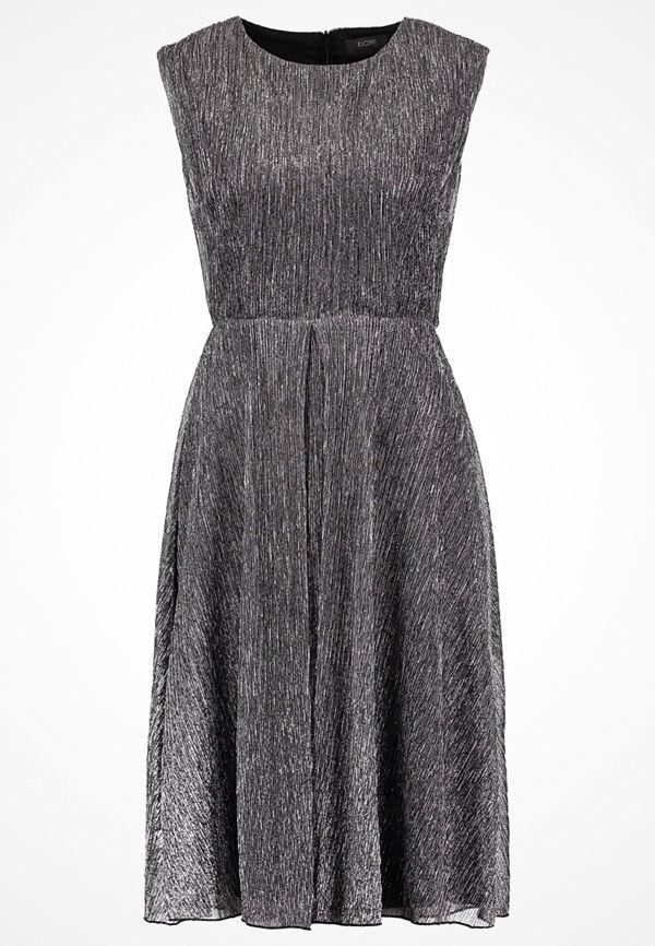 KIOMI Cocktailklänning black/silver