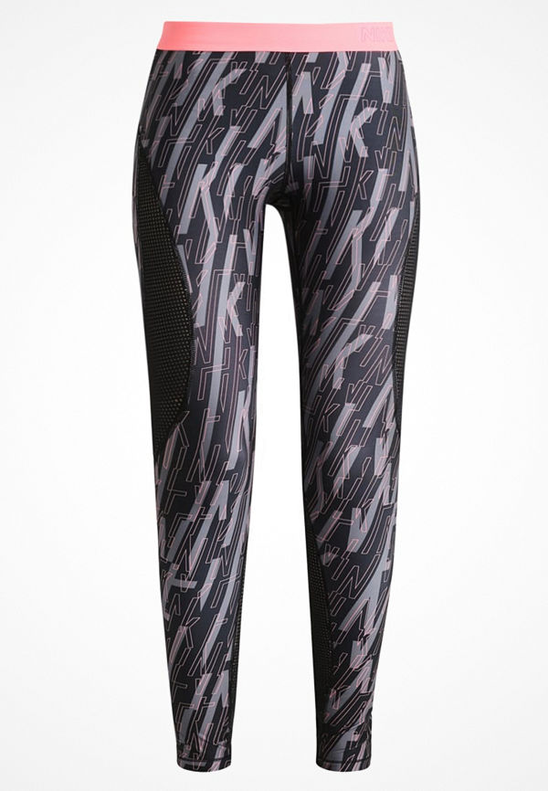 Nike Performance PRO HYPERCOOL Tights black/lava glow
