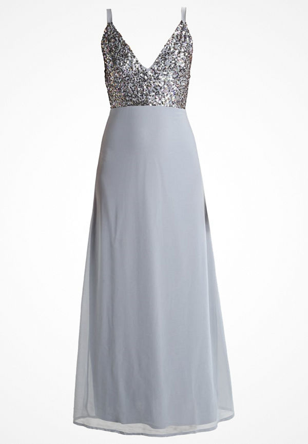 Lace & Beads SHANTELLE Festklänning grey