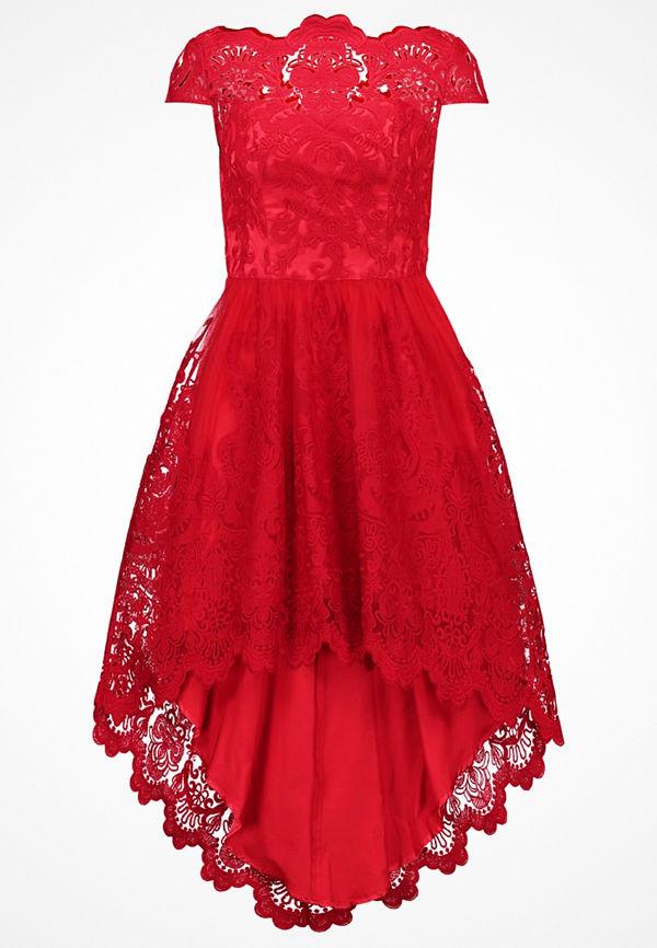 Chi Chi London ASTRID Festklänning red