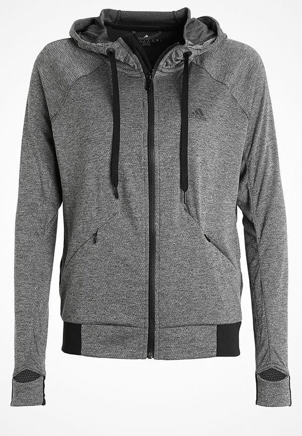 Adidas Performance Sweatshirt dark grey heather