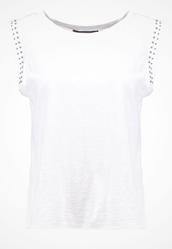 Replay Tshirt med tryck white