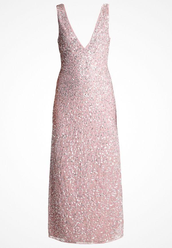 Lace & Beads CLARA Festklänning pink