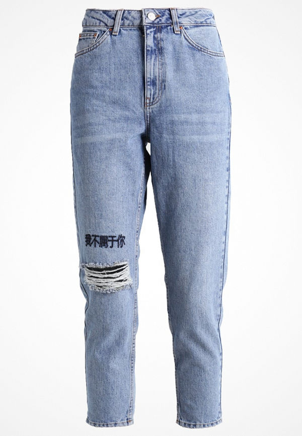 Topshop Jeans relaxed fit bleach