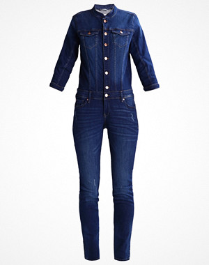 Q/S designed by Overall / Jumpsuit blue denim tinted/heavy stone washed
