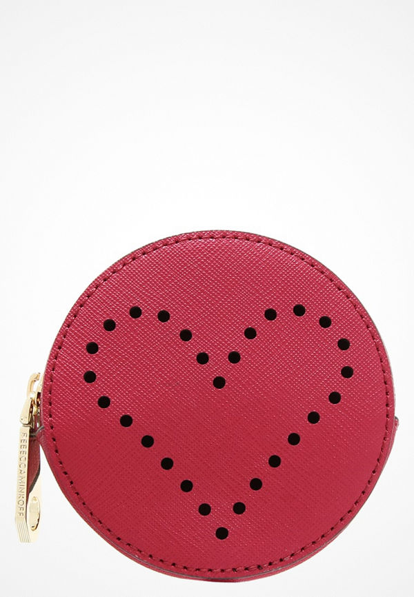 Rebecca Minkoff LOVE Plånbok deep red