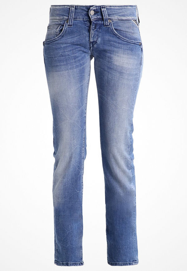 Replay NEWSWENFANI Jeans straight leg blue denim