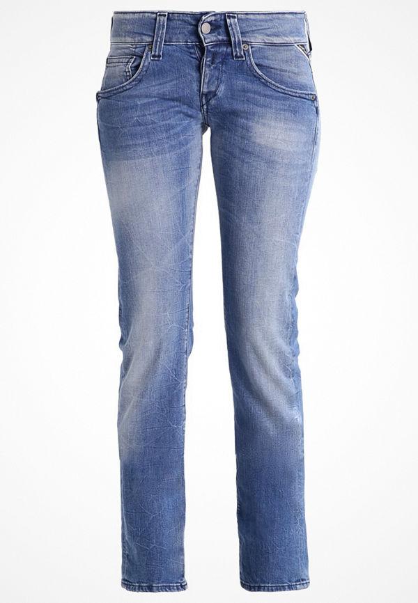 Replay NEWSWENFANI Jeans straight leg blue denim
