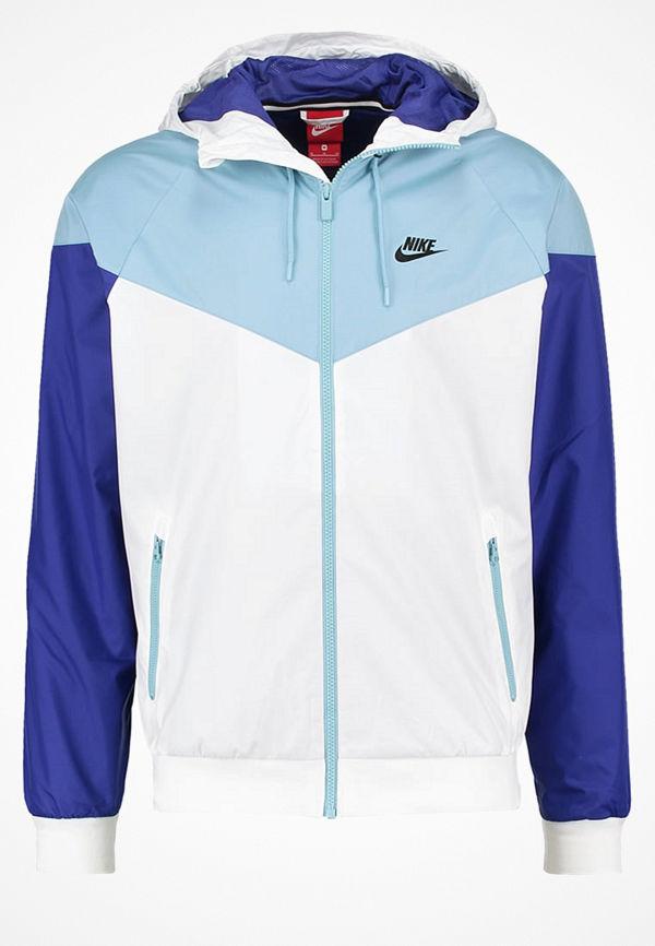 Nike Sportswear WINDRUNNER Tunn jacka white/mica blue/deep night/black