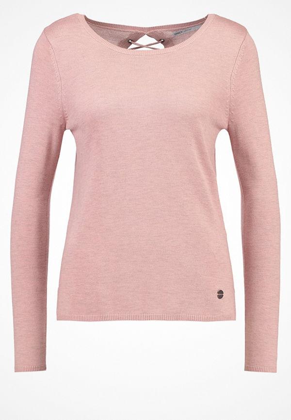 Only ONLCOSY  Stickad tröja rose dawn melange
