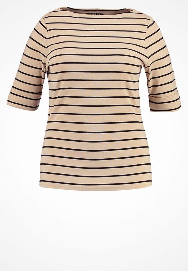Lauren Ralph Lauren Woman JUDY Tshirt med tryck pale wheat/polo
