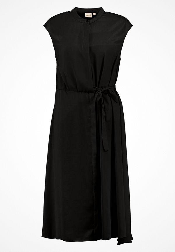 Object OBJADRIANNE Skjortklänning black - Klänningar online ... 4e7e33354e928