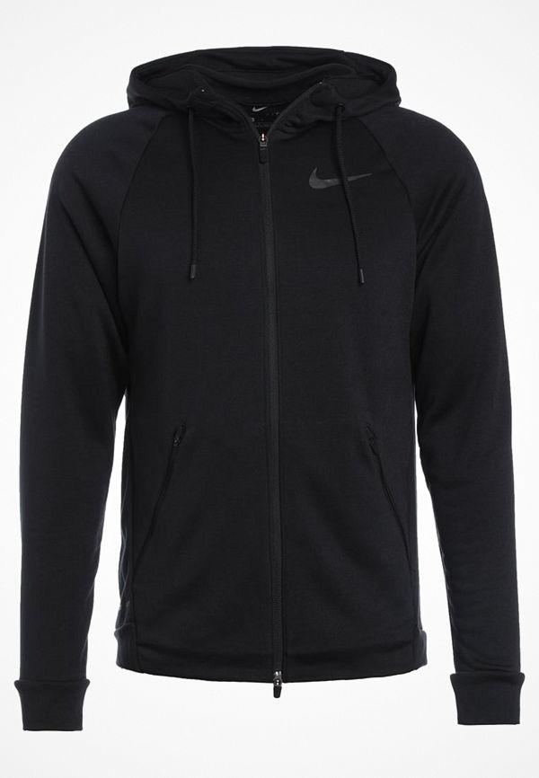 Nike Performance DRY HYPER  Sweatshirt noir/gris