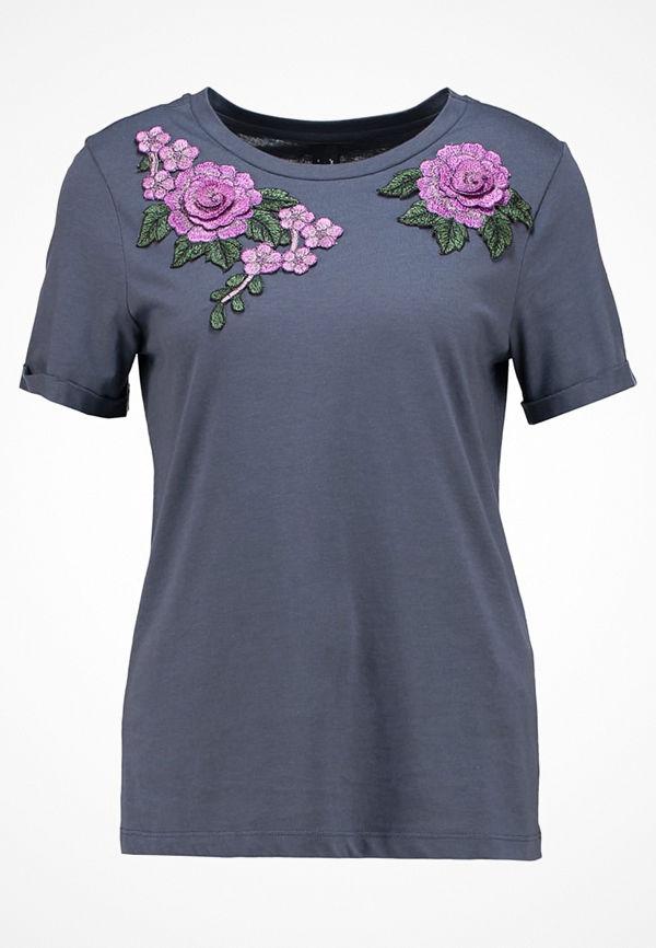 Vero Moda VMMARA  Tshirt med tryck ombre blue