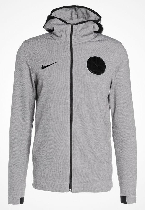Nike Performance NBA GOLDEN STATE WARRIORS SHOWTIME Sweatshirt dark grey/heather/black
