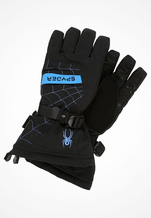 Spyder OVERWEB Fingervantar black/french blue