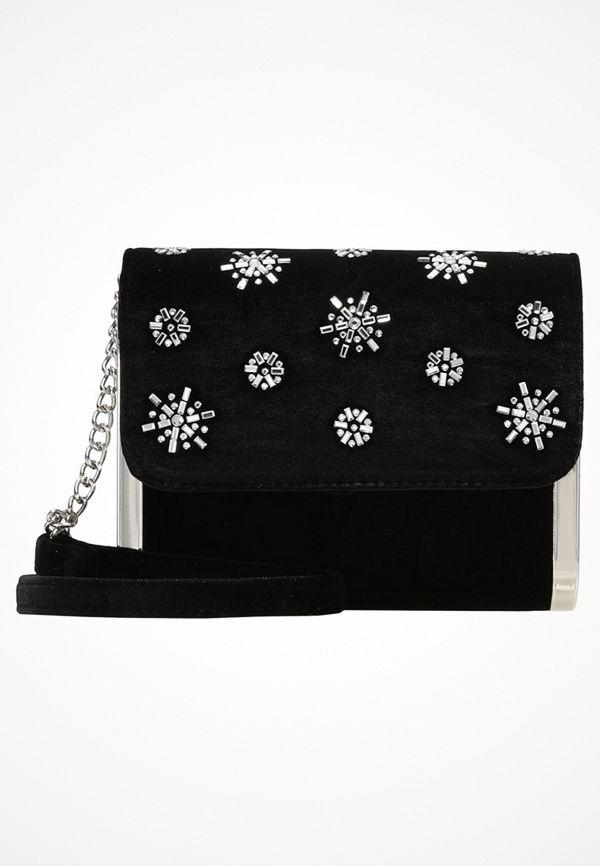 New Look MARCIE SIDE Kuvertväska black mönstrad