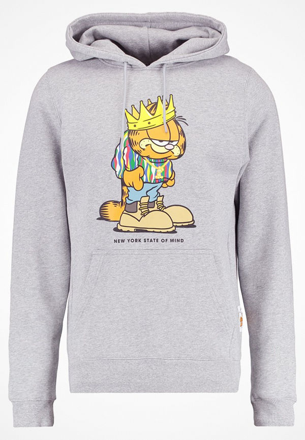 Cayler & Sons KING GARFIELD Luvtröja heather grey/multi colour