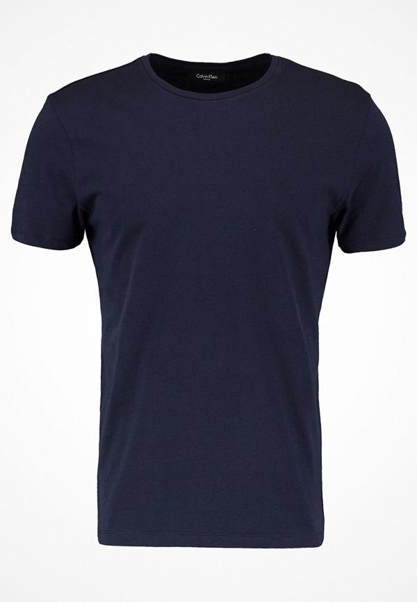 Calvin Klein TRAVOR CREW NECK Tshirt bas blue