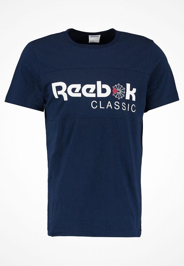 Reebok Classics ICONIC  Tshirt med tryck collegiate navy/collegiate navy