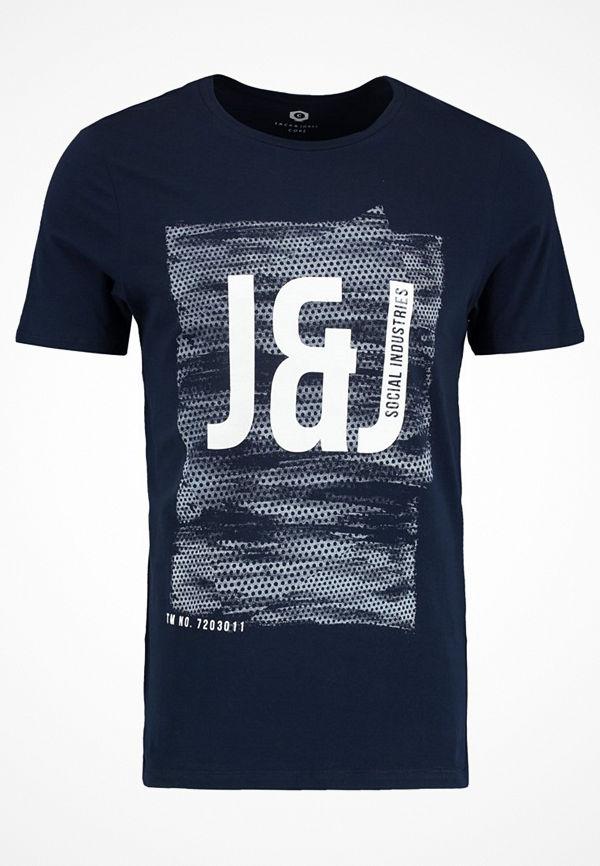 Jack & Jones JCOPROFILE TEE CREW NECK Tshirt med tryck sky captain