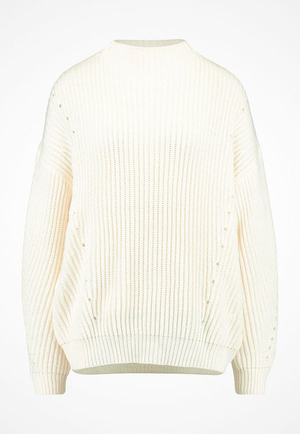 Vero Moda VMECHO FUNNELNECK LONG Stickad tröja pristine