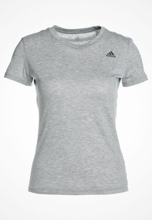 Adidas Performance FREELIFT PRIME Tshirt bas medium grey heather
